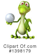Green Gecko Clipart #1398179 by Julos