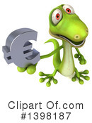 Green Gecko Clipart #1398187 by Julos