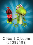 Green Gecko Clipart #1398199 by Julos