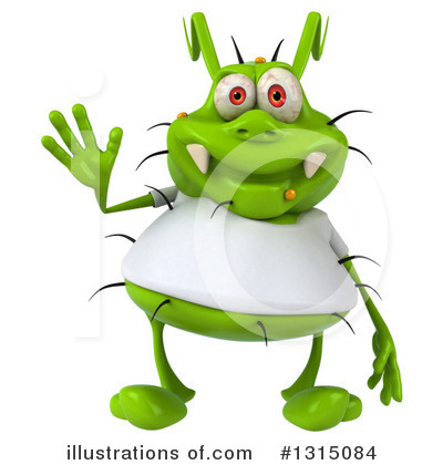Green Germ Clipart #1315084 by Julos