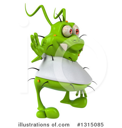 Green Germ Clipart #1315085 by Julos