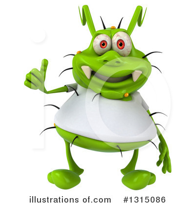 Green Germ Clipart #1315086 by Julos
