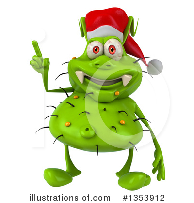Green Germ Clipart #1353912 by Julos