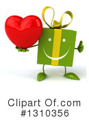 Green Gift Clipart #1310356 by Julos