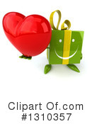 Green Gift Clipart #1310357 by Julos