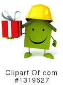 Green Home Clipart #1319627 by Julos