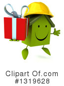 Green Home Clipart #1319628 by Julos