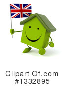 Green Home Clipart #1332895