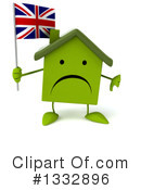 Green Home Clipart #1332896
