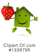 Green Home Clipart #1338795 by Julos