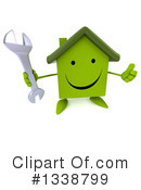 Green Home Clipart #1338799 by Julos