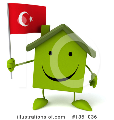 Green House Clipart #1351036 by Julos
