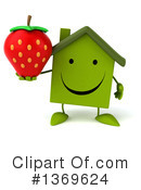 Green Home Clipart #1369624 by Julos
