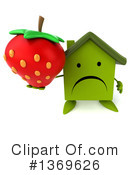 Green Home Clipart #1369626 by Julos