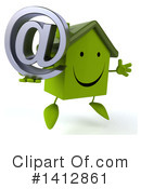 Green Home Clipart #1412861 by Julos