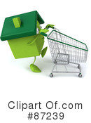 Green Home Clipart #87239
