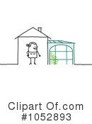Royalty-Free (RF) Green House Clipart Illustration #1052893