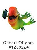 Green Macaw Clipart #1280224 by Julos