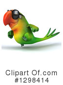 Green Macaw Clipart #1298414 by Julos