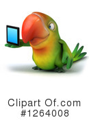 Green Parrot Clipart #1264008 by Julos