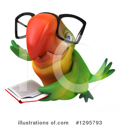 Green Parrot Clipart #1295793 by Julos