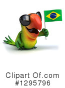 Green Parrot Clipart #1295796 by Julos