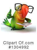 Green Parrot Clipart #1304992 by Julos