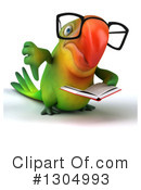 Green Parrot Clipart #1304993 by Julos
