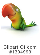 Green Parrot Clipart #1304999 by Julos