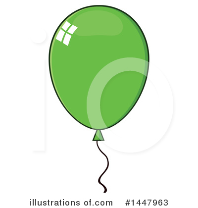 Balloons Clipart #1447963 by Hit Toon