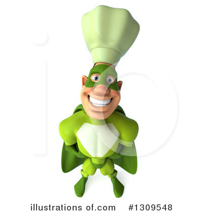 Green Chef Clipart #1309548 by Julos