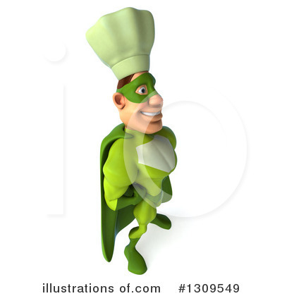 Green Chef Clipart #1309549 by Julos