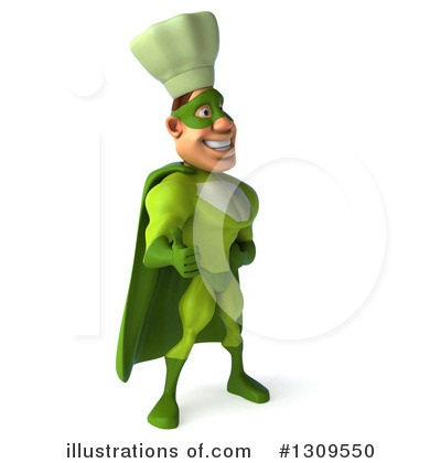 Green Chef Clipart #1309550 by Julos