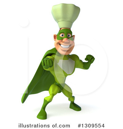 Green Chef Clipart #1309554 by Julos