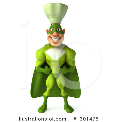 Green Chef Clipart #1301475 by Julos