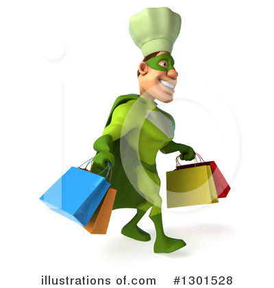 Green Chef Clipart #1301528 by Julos