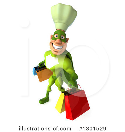 Green Chef Clipart #1301529 by Julos