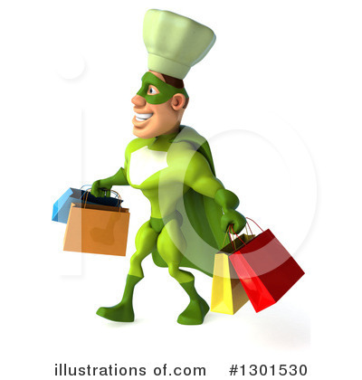 Green Chef Clipart #1301530 by Julos