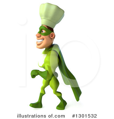 Green Chef Clipart #1301532 by Julos
