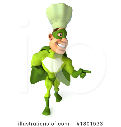 Green Chef Clipart #1301533 by Julos