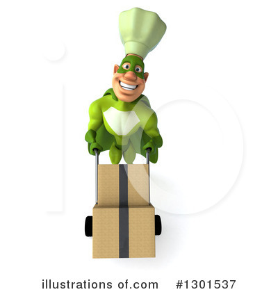 Green Chef Clipart #1301537 by Julos
