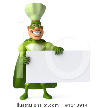 Green Chef Clipart #1318914 by Julos