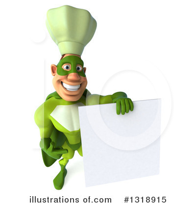Green Chef Clipart #1318915 by Julos