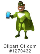 Green Super Hero Clipart #1270432 by Julos