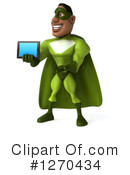 Green Super Hero Clipart #1270434 by Julos