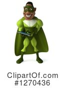 Green Super Hero Clipart #1270436 by Julos
