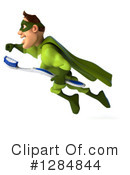 Green Super Hero Clipart #1284844 by Julos