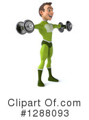 Green Super Hero Clipart #1288093 by Julos
