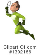 Green Super Hero Clipart #1302166 by Julos