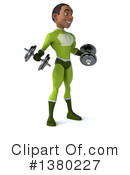 Green Super Hero Clipart #1380227 by Julos